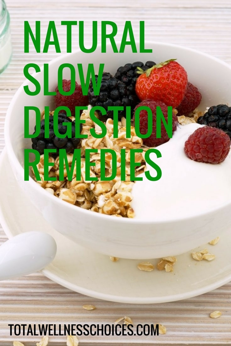 Discover effective natural slow digestion remedies that can help banish constipation and bloating as well as boost your digestive health.
