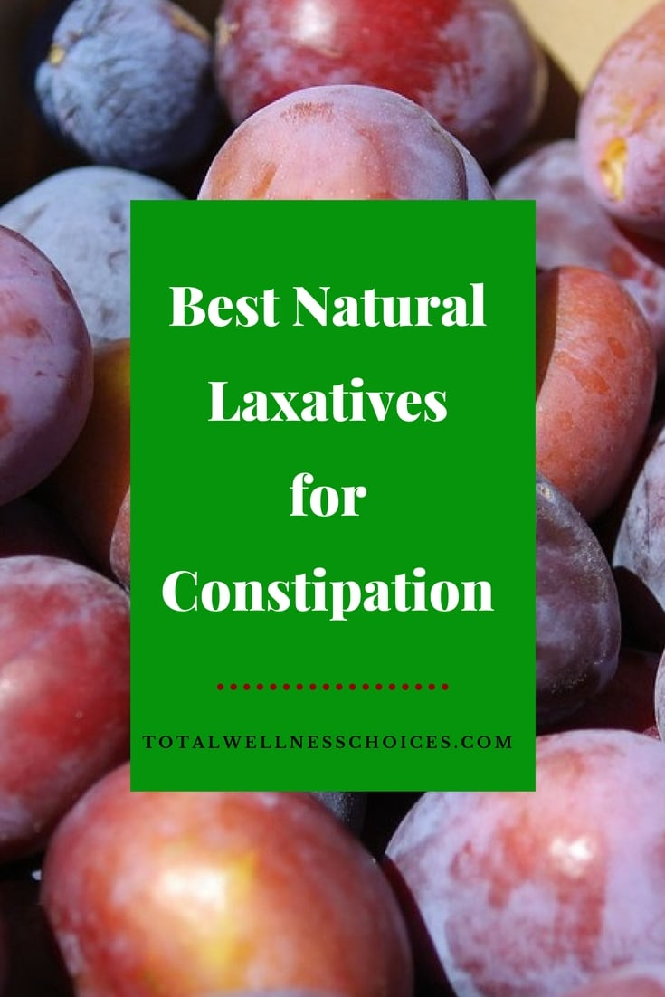Constipated? Discover the best natural laxatives for constipation - natural remedies that relieve constipation and improve bowel movements.
