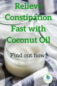 Coconut Oil Constipation