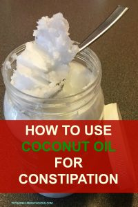 How to Use Coconut Oil for Constipation