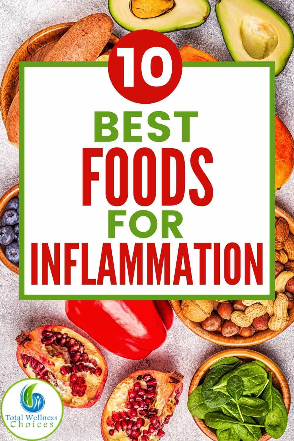 Anti inflammatory foods that fight inflammation