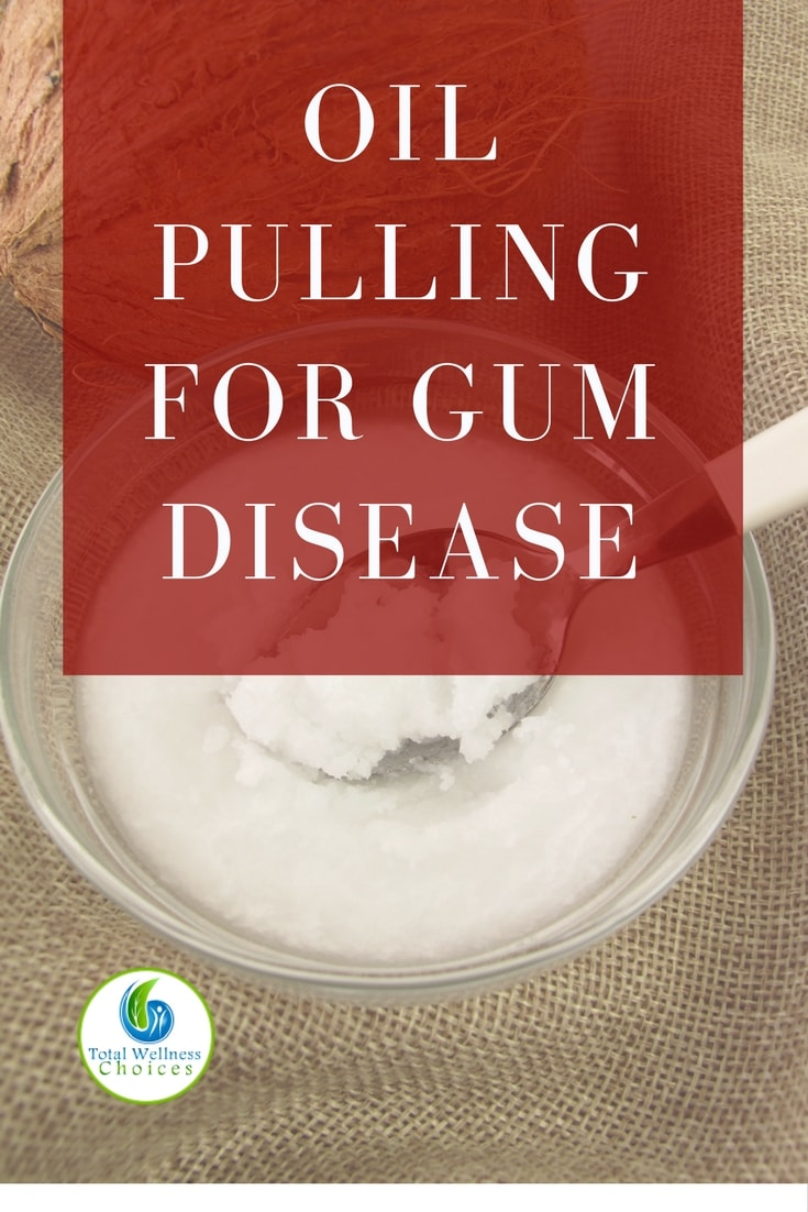 Using oil pulling for gum disease has helped stop redness, swelling and bleeding gum. It is even reversing receding gums (My experience).