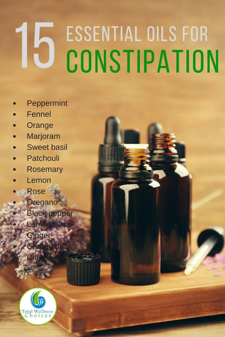 15 Best Essential Oils For Constipation You Can Use Safely