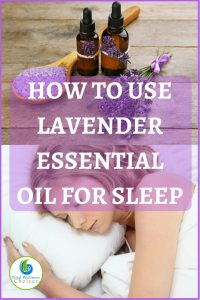 lavender essential oil for sleep
