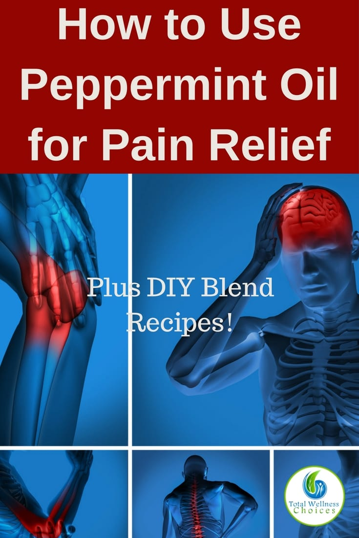 Learn how to use peppermint oil for pain relief, plus simple diy peppermint essential oil blend recipes you can try!