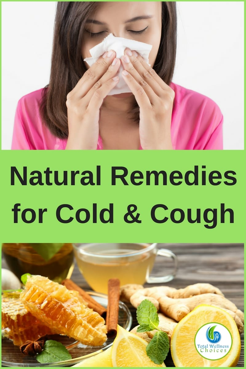 Here are 4 effective natural remedies for cold and cough to help relieve inflammation, congestion, sore throat and other symptoms!