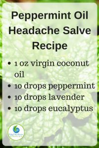 Peppermint Oil Headache Relief Salve Recipe