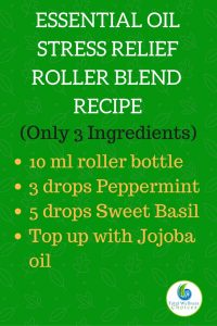 Essential Oil Stress Relief Roller Recipe