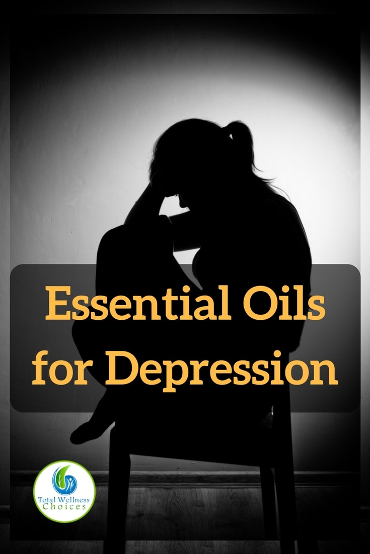 Here are 5 uplifting essential oils for depression to help enhance your mood plus mood enhancing essential oil recipes!