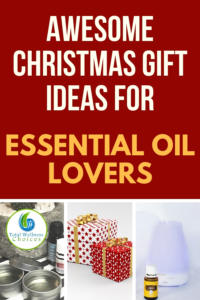Christmas gift ideas for essential oil lovers