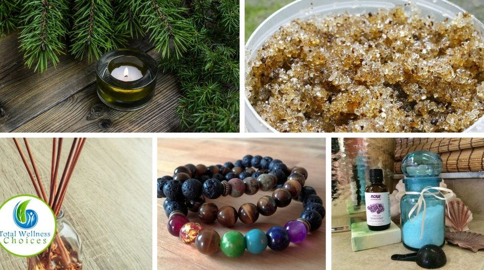 Homemade Gifts using Essential Oils
