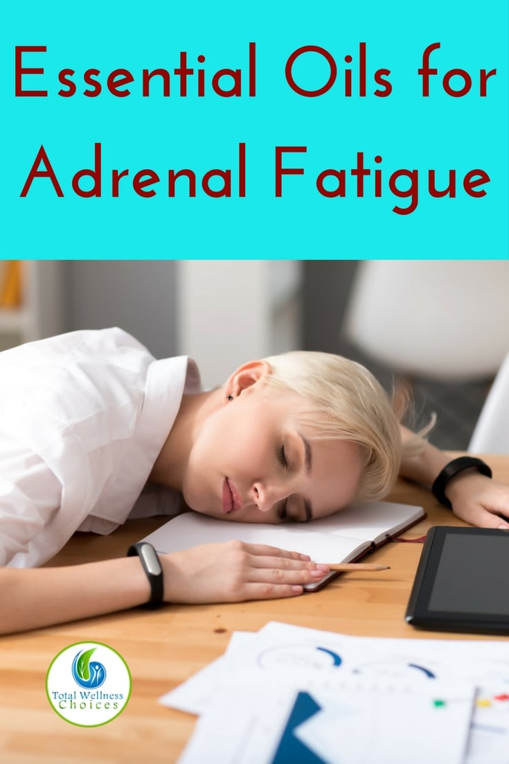 Here are 7 best essential oils for adrenal fatigue to help relieve adrenal exhaustion and other symptoms! #essentialoils #adrenalfatigue