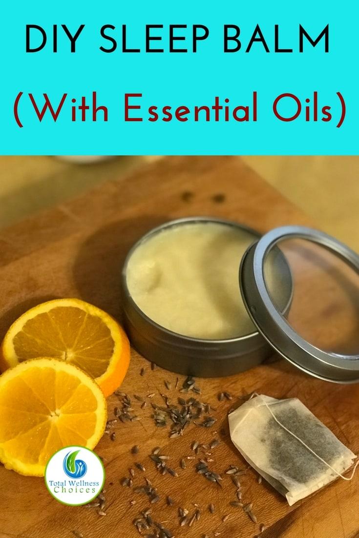 Diy sleep balm recipe with essential oils to help you fight insomnia! #insomnia #essentialoils #naturalsleepaid #naturalremedies