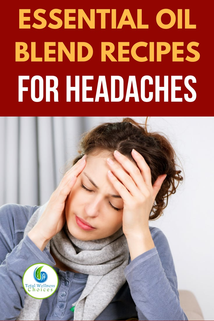 5 Essential oil headache relief recipes to help you make headache buster blends! #essentialoils #essentialoilsforheadaches #headachebusterblend #migraine #headacheessentialoils #headacherelief