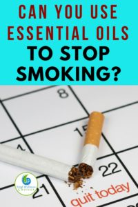 How to use essential oils to stop smoking! #essentialoils #quitsmoking #stopsmoking