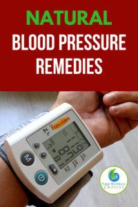 Natural Blood Pressure Remedies