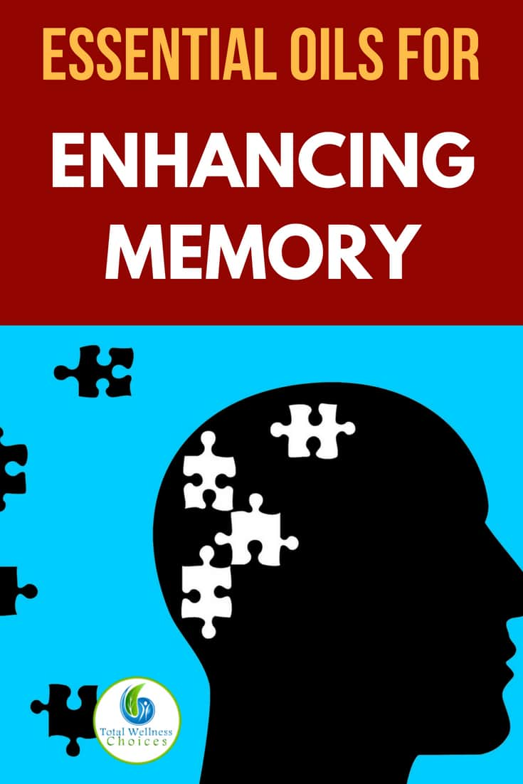 Top 5 essential oils for memory to help you enhance your cognitive performance and overcome forgetfulness! #memoryloss #dementia #alzheimer's #forgetful