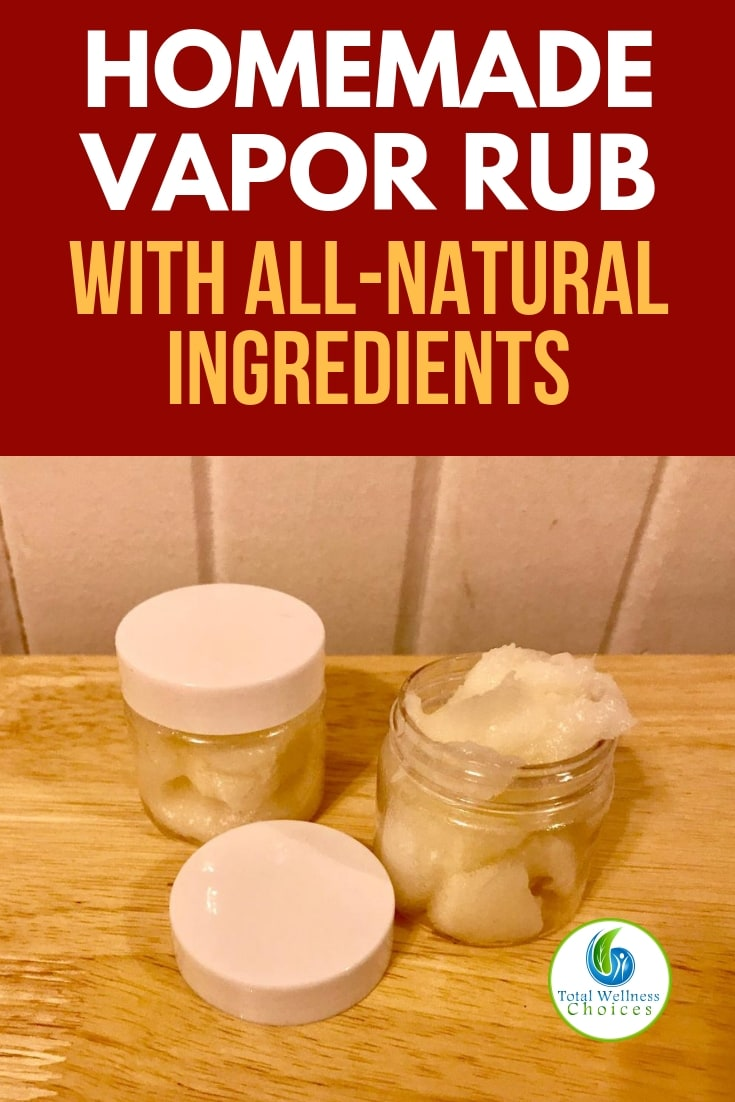 Use this homemade vapor rub recipe to make your own DIY chest rub with essential oils and other natural ingredients - better than Vicks! #vicksvaporrub #homemadevaporrub #diychestrub #naturalremedies #essentialoils
