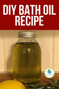 Diy bath oil recipe