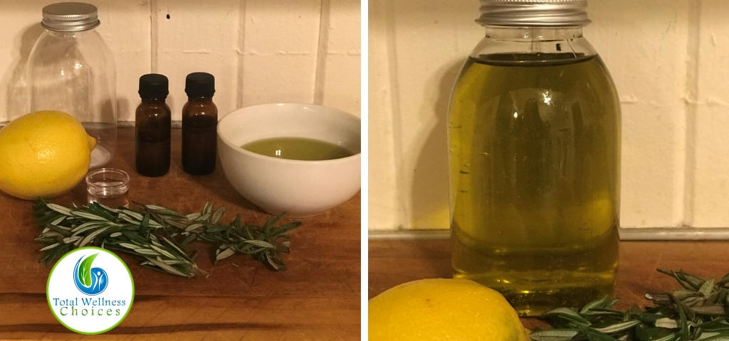 How to make bath oil