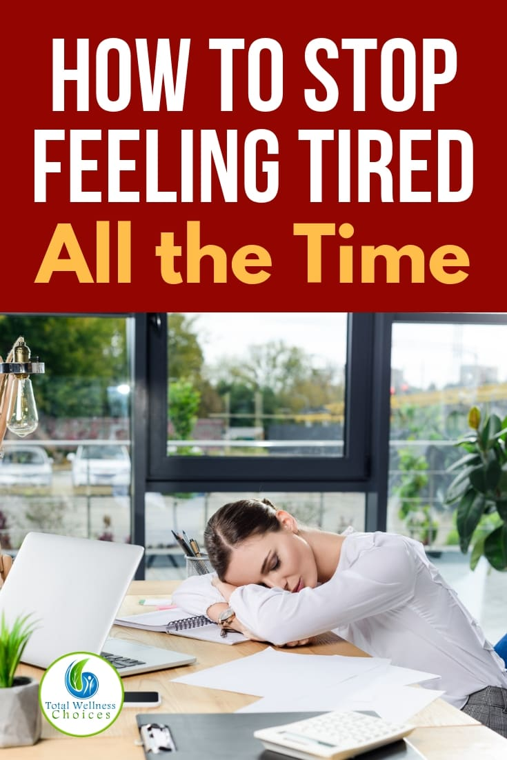 Find out how to stop feeling tired all the time and increase your energy levels naturally. #howtostopfeelingtiredallthetime #stopfeelingtired #feelingtiredalways #fatigue #chronicfatigue