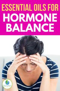 Essential oils for hormone balance