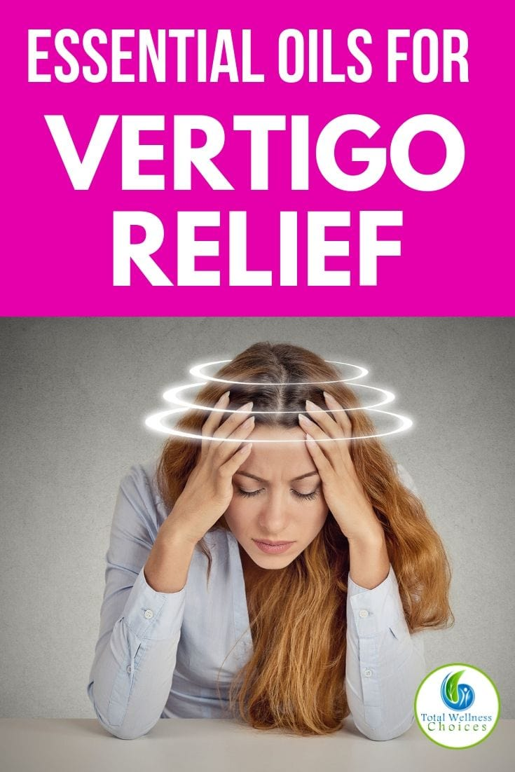 Essential oils for vertigo relief