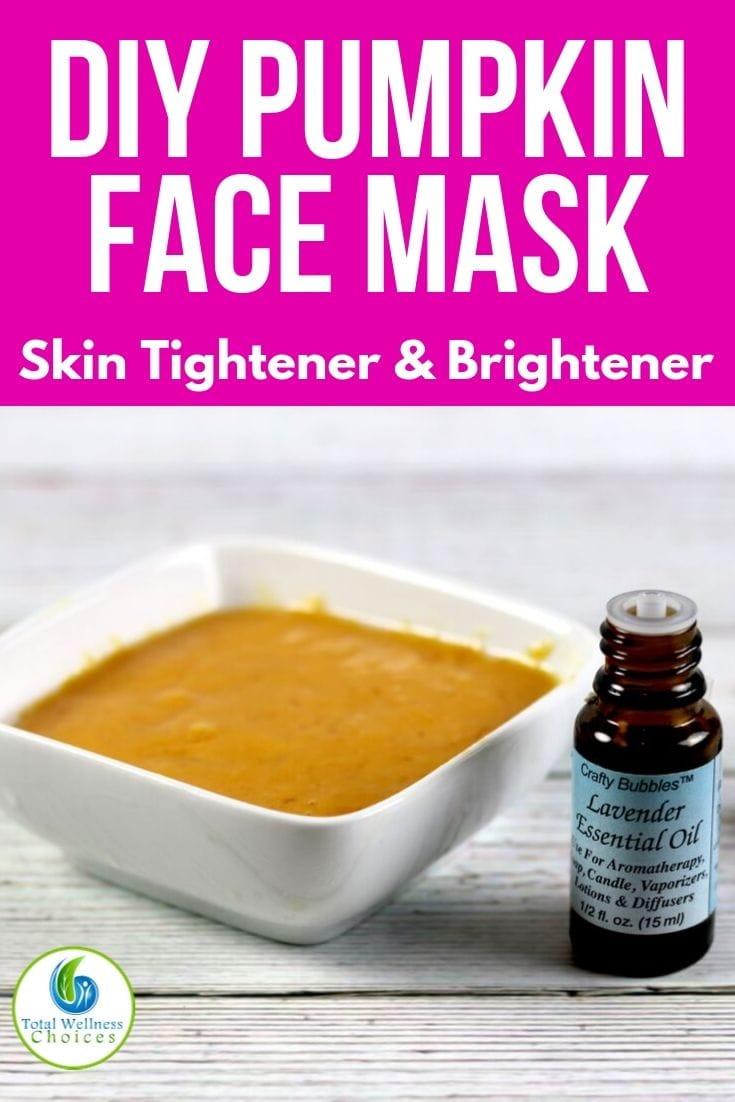 DIY pumpkin face mask recipe