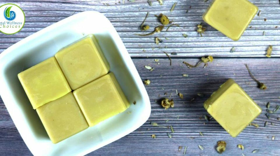 DIY solid lotion bar recipe for eczema