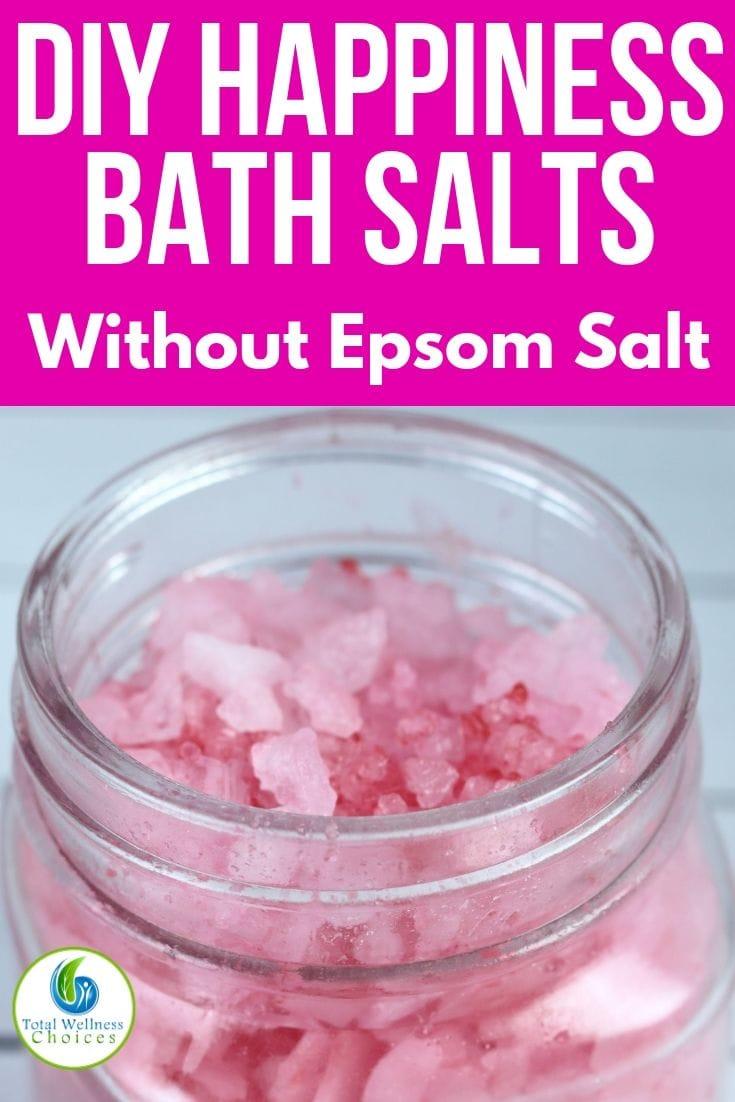 Homemade bath salts without Epsom salt