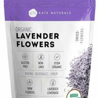 Organic Lavender Flowers - Kate Naturals. Gluten-Free, Non-GMO.