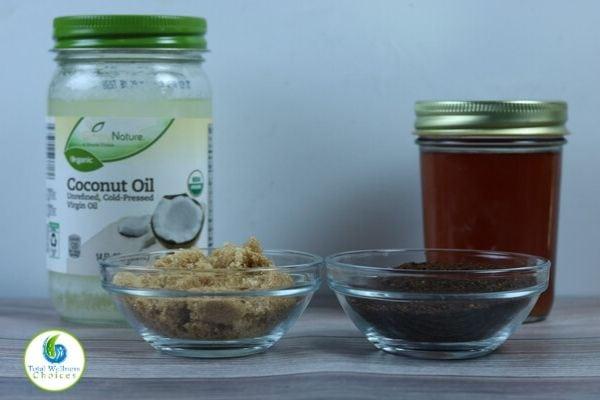 Exfoliating coffee sugar scrub ingredients