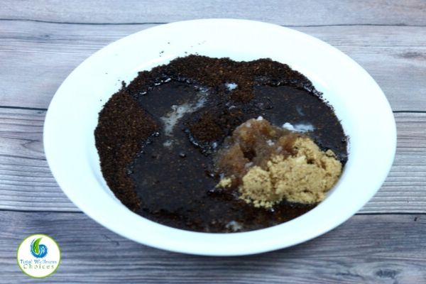 Homemade coffee body scrub recipe