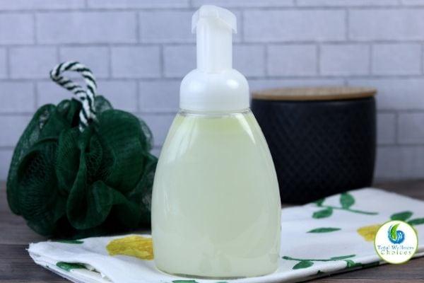 Refreshing body wash