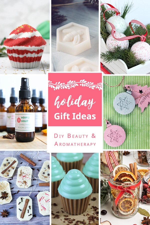 DIY beauty and aromatherapy holiday gift ideas