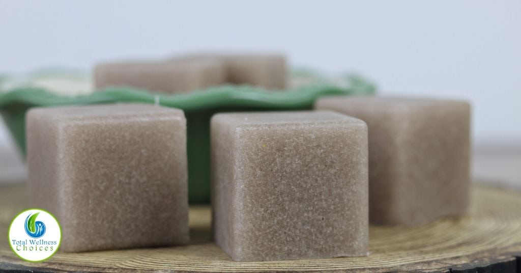 How to make sugar scrub soap cubes