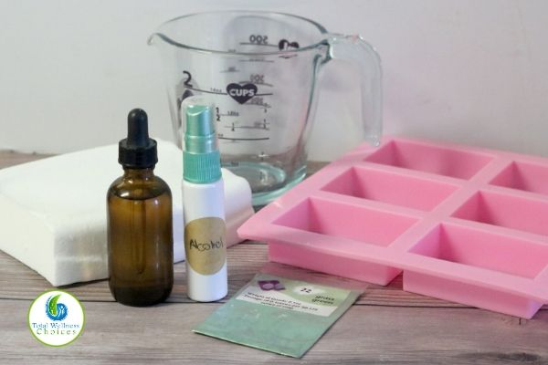 Melt and pour soap making supplies