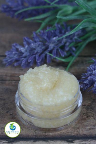 Lip scrub homemade recipe
