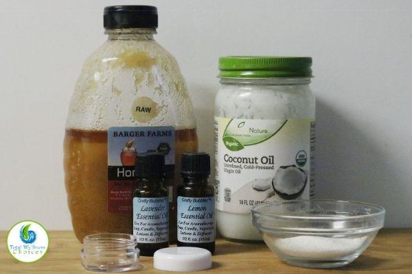 Sugar lip scrub recipe ingredients