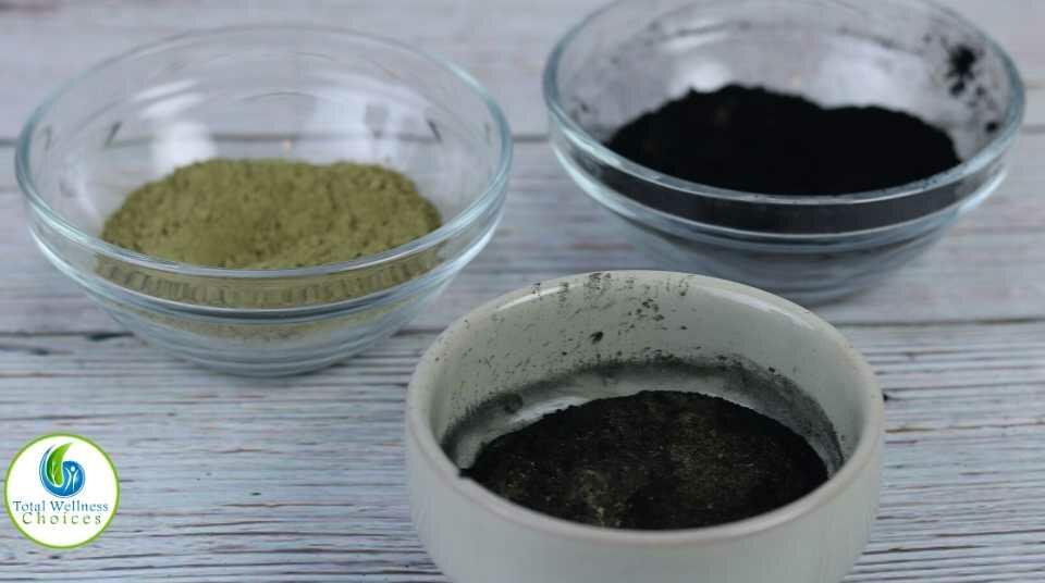 DIY Charcoal matcha green tea face mask recipe