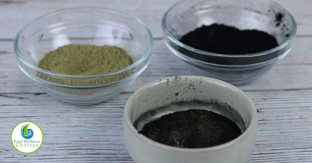 DIY Charcoal matcha green tea face mask recipe