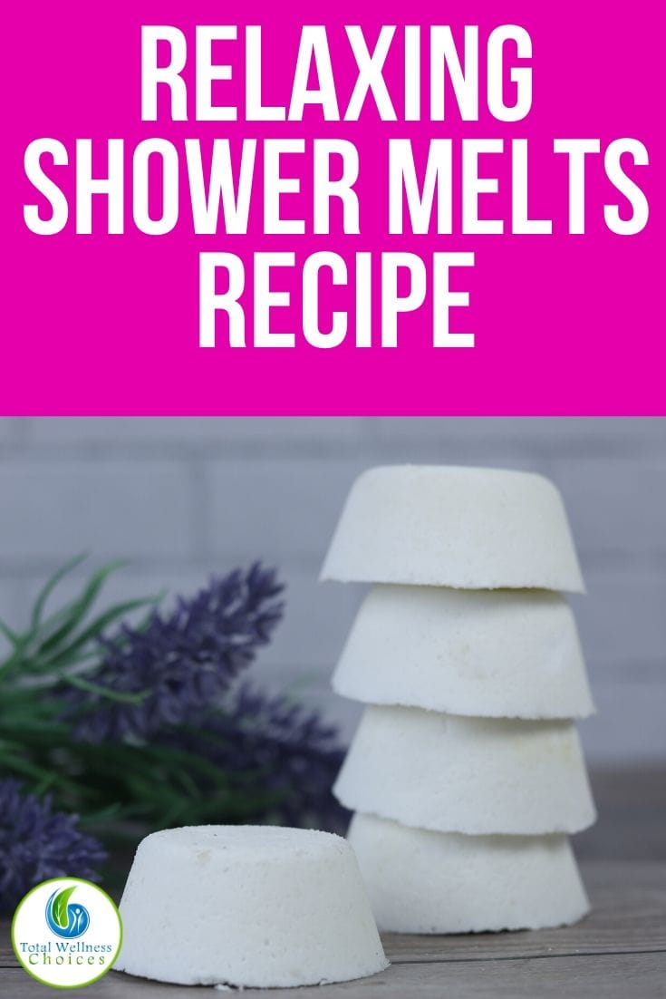 DIY shower melts recipe with essential oils