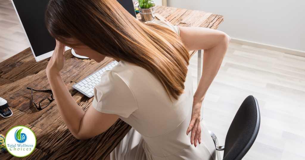 Back pain essential oils