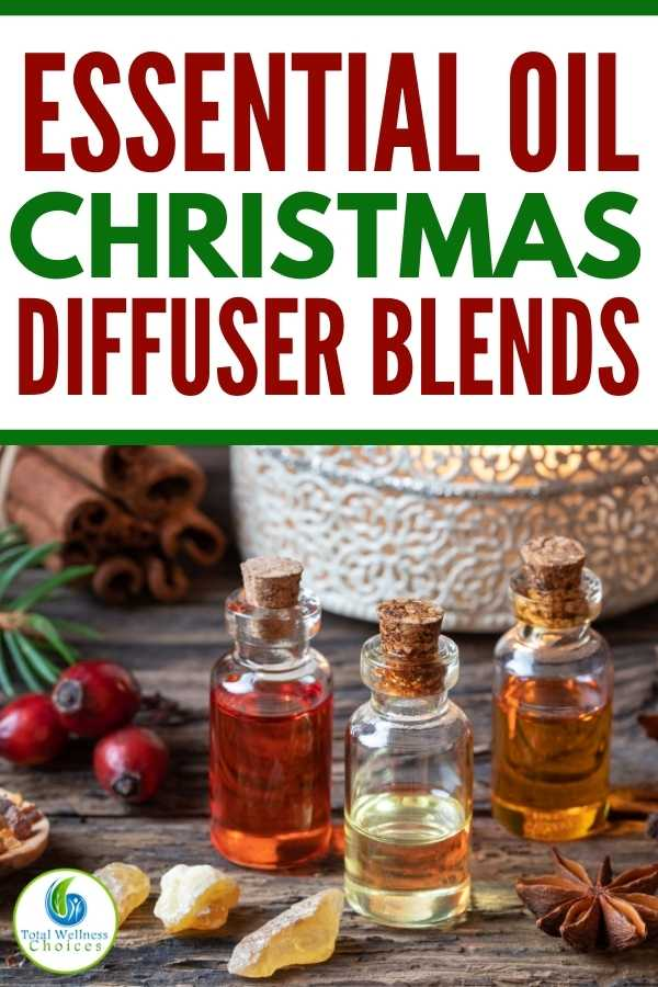 Essential oil Christmas diffuser blends