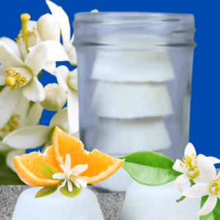 DIY Invigorating Shower Melts Recipe with Essential Oils